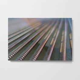 strings Metal Print