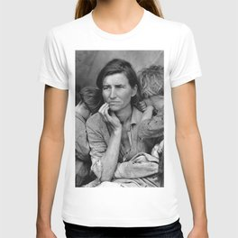 Migrant Mother Great Depression T-shirt