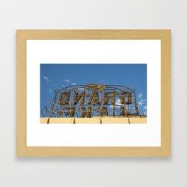 Grand Lake Theater Framed Art Print