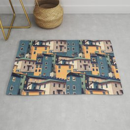 Night Castles (Pattern) Rug