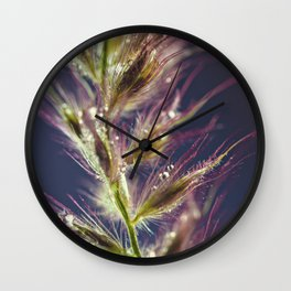 wisp of a thing Wall Clock
