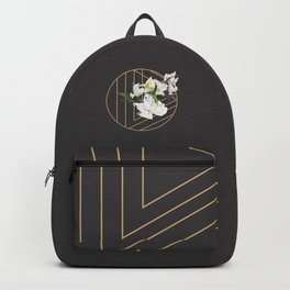 Tropical Flowers & Geometry III Backpack