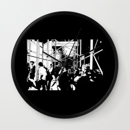 Chelsea Crowd #1 Wall Clock