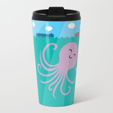 Octopus Selfie Travel Mug