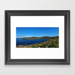 Scotland - Isle of Skye - Uig Framed Art Print