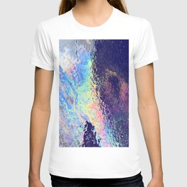 Trippy oil in water rainbow T-shirt