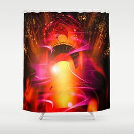 Lighthouse romance 10 Shower Curtain