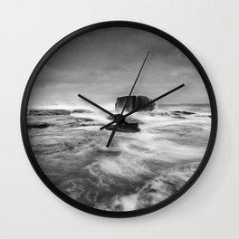 Stormy Seascape Wall Clock