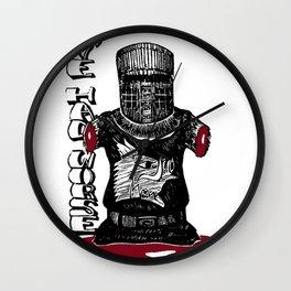 The Black Knight - Monty Python Wall Clock