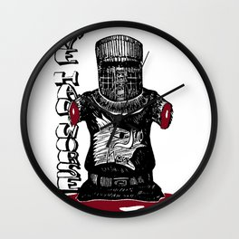 The Black Knight - Monty Python Wall Clock