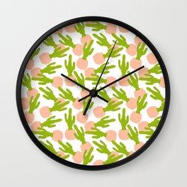 Cactus No. 2 Wall Clock