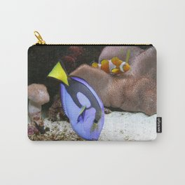 Coral Reef and Fish Carry-All Pouch
