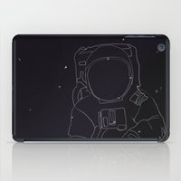 spaceman iPad Cases featuring Spaceman by Julianne Ess