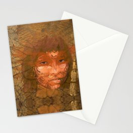 The Serene Warrior Stationery Cards