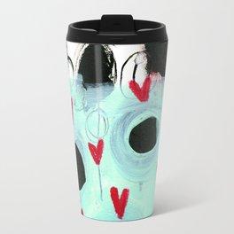 Falling Hearts Travel Mug