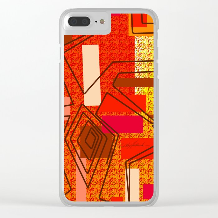 The Hat Dance Clear iPhone Case