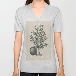The fruit growers guide  Vintage  of equilateral triangle Unisex V-Neck