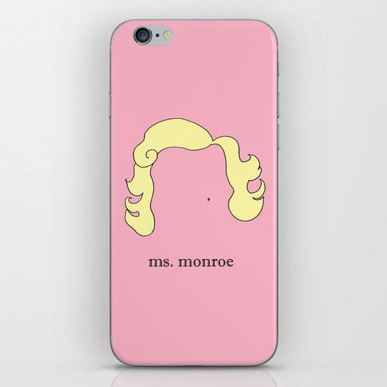 Ms. Monroe iPhone & iPod Skin