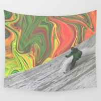 rasta Wall Tapestries featuring Rasta Corner by Cale potts Art