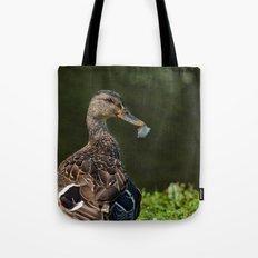 Feathered Mallard Tote Bag