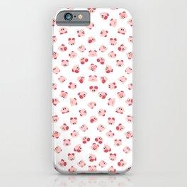 pupupu pink madness pattern iPhone Case