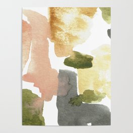 Great New Heights Abstract Poster
