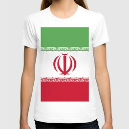 Iran flag emblem T-shirt