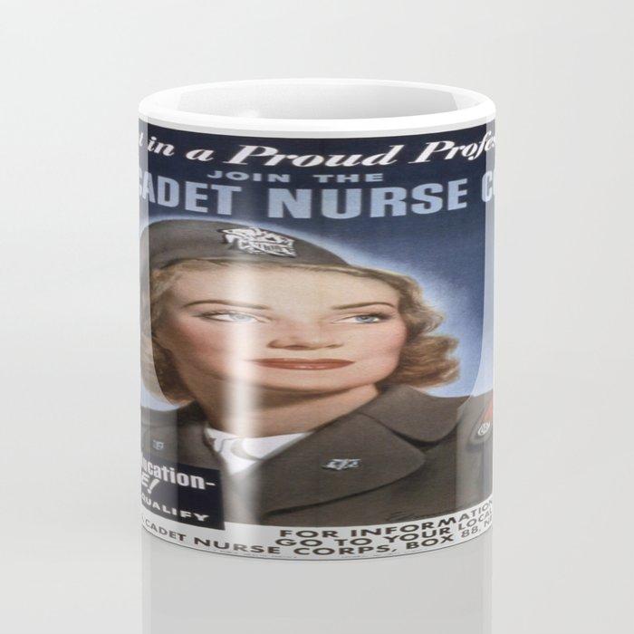 Vintage poster - U.S. Cadet Nurse Corps Coffee Mug