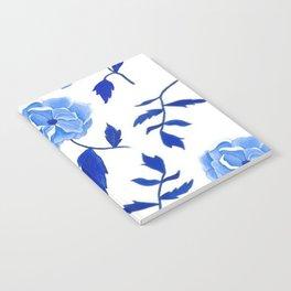 Blue Peonies Notebook