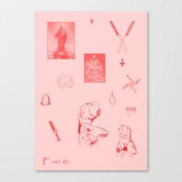 Eros I Canvas Print