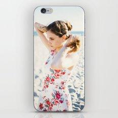 Beach Hair iPhone & iPod Skin