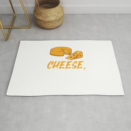 I Just Really Like Cheese, Ok, For Cheese Lover Rug