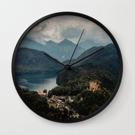 Germany Castle   Fine Art Travel Photography Wall Clock