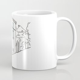 Montmartre street in Paris Coffee Mug