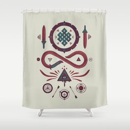Endless Shower Curtain