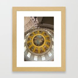 Above Napoleon Bonaparte - Look Up Series Framed Art Print