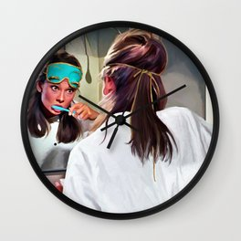 Audrey Hepburn #5 @ Breakfast At Tiffanys Wall Clock
