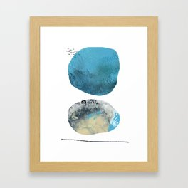 We Tell Our Secrets to the Moon Framed Art Print