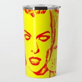 Milla Jovovich Pop Art III Travel Mug