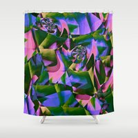 jungle Shower Curtains featuring Jungle by Truly Juel
