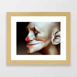 Boom Clown Framed Art Print