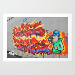 Old Skool Art Print