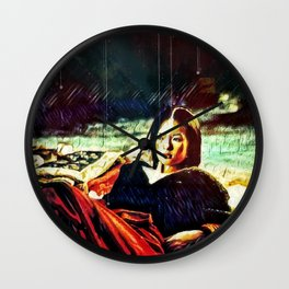 By Firelight Wall Clock
