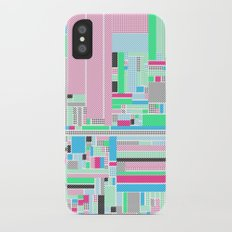 Pink, Blue & Green Slim Case iPhone X