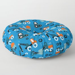 Toys cars patterns Floor Pillow