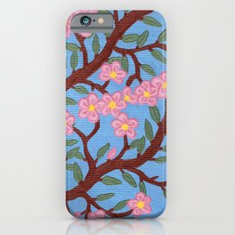 Large Cherry Tree 2b iPhone Case
