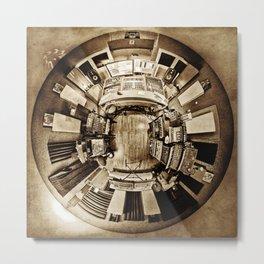Robert Babicz : Studio 360 [sepia] Metal Print