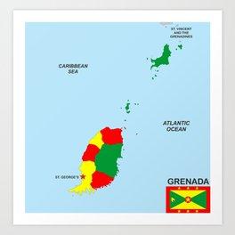 Grenada Art Prints | Society6