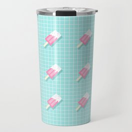 Popsicle Over Grid Lines Travel Mug