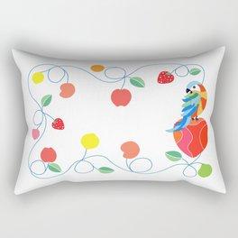Kitchen hybrid macaw Rectangular Pillow